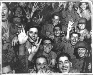 1945_PR_Soldiers_Celebrate_WWII_Ends