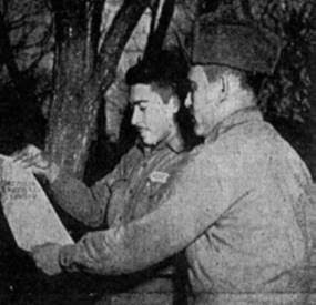 12. PR Soldiers Read ELA's Constitution March 19 1952