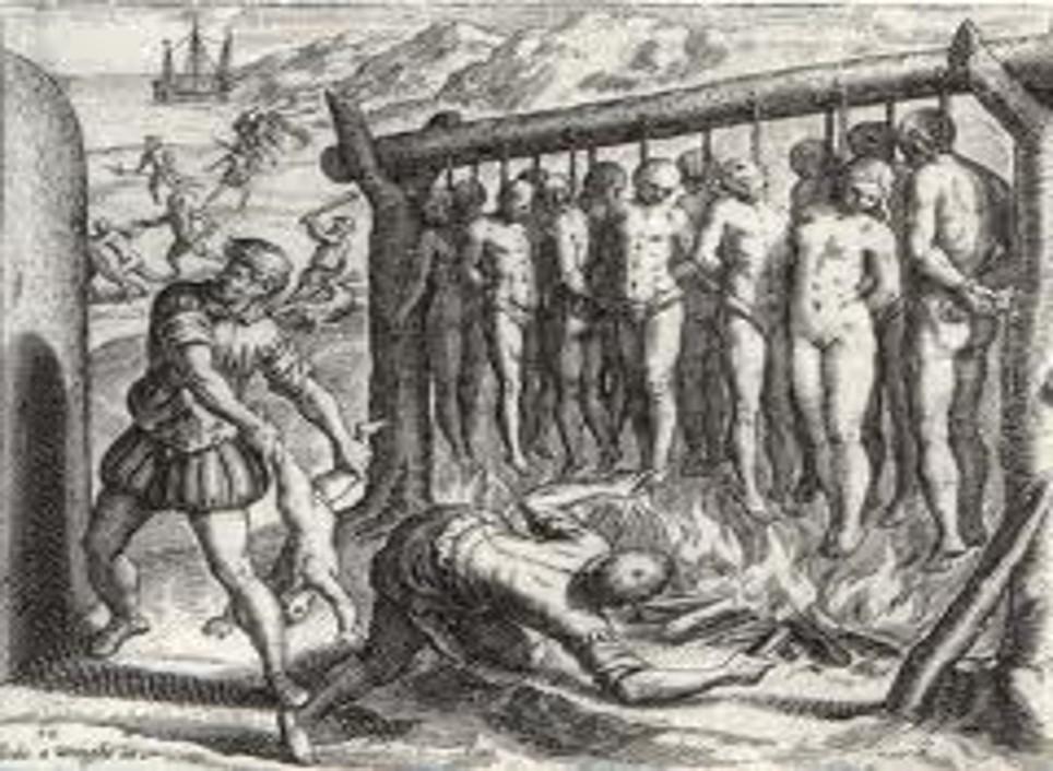 de Bry Spanish Brutality